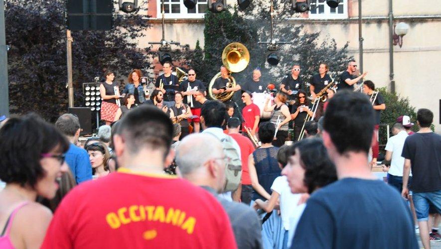 La fête de la Musique à Rodez prend de plus en plus d'ampleur.