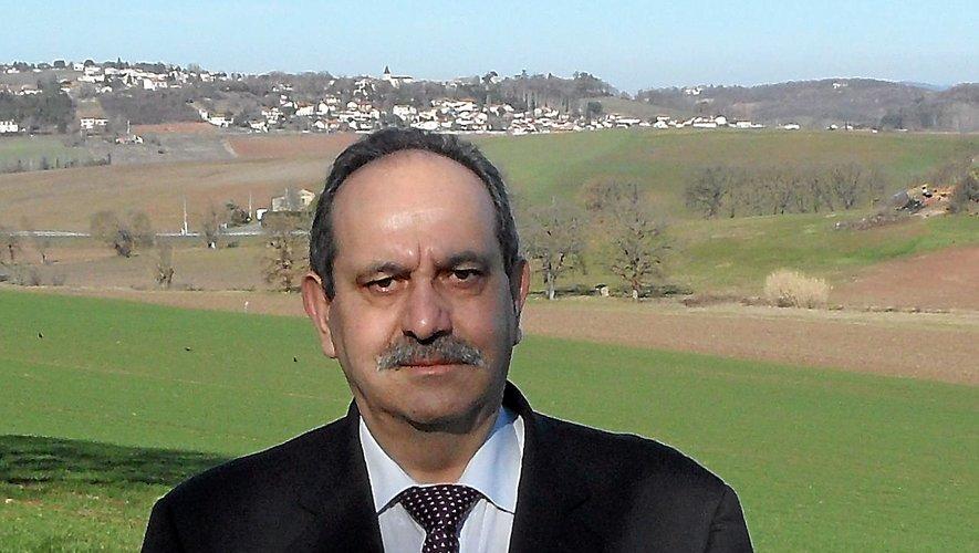 Paul Martin, le maire de Najac.