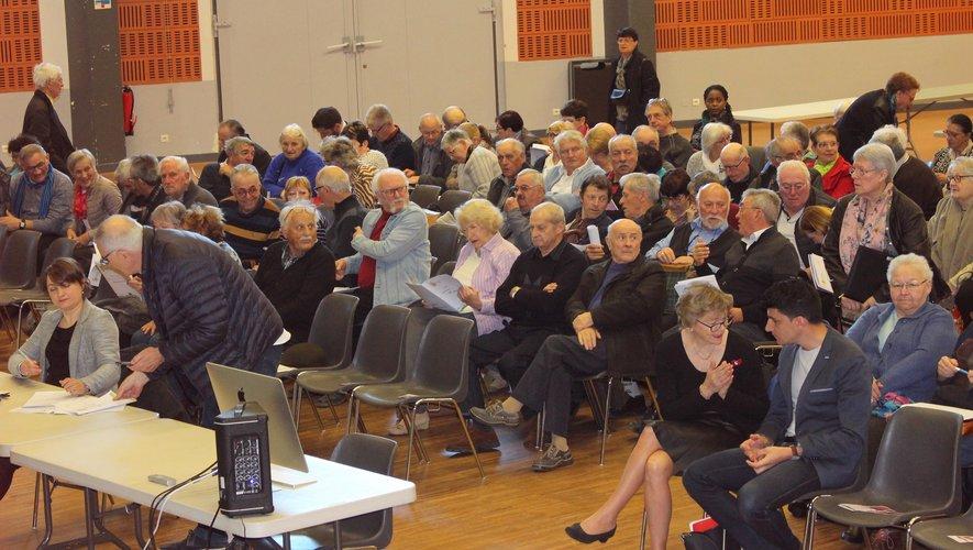 Les participants à cette assemblée générale