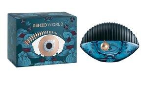 """Le parfum """"Kenzo World Intense Collector"""" issu de la """"Fantasy Collection"""" de Kenzo."""