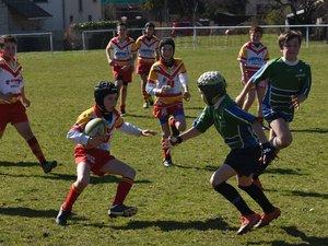 Plus de 200 petits rugbymen sur le pré