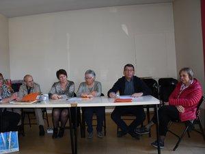 L'équipe du président Jean-Luc Pommier a été reconduite.