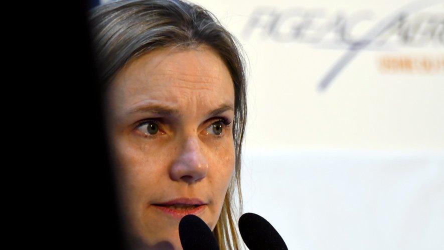 Agnès Pannier-Runacher, secrétaire d'État auprès du ministre de l'Économie et des Finances Bruno Le Maire,