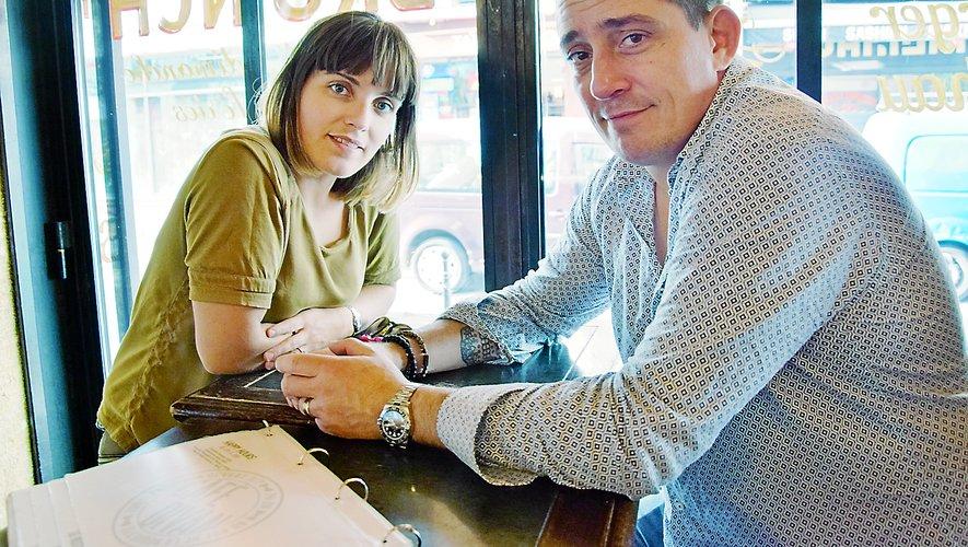 Céline et Mathieu Decruéjouls gardent un lien fort avec l'Aveyron où il a grandi avant de retrouver son épouse à Paris, la «ville de tous les possibles».