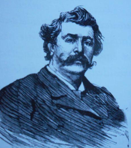 Pierre Poujol fait renaître Jules Cayrade./ Photo DDM, archives