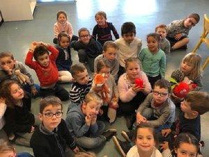 Les enfants impatients d'accueillir Balthazar !