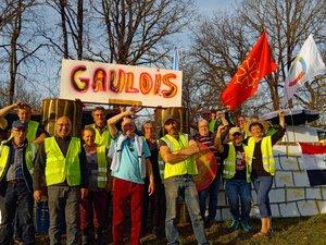 Encore un samedi convivial et studieux pour les Gilets jaunes du Villefranchois.