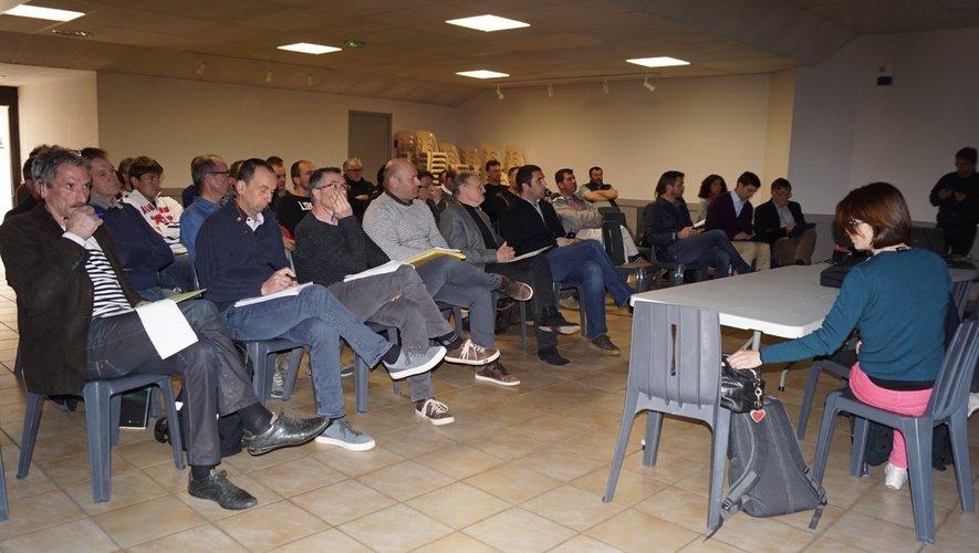 Une assemblée à l'écoute des études de faisabilité.