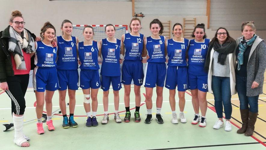 Les filles du basket club des Lacs réalisent une magnifique saison et sont à deux doigts d'accéder aux play-offs d'accession .