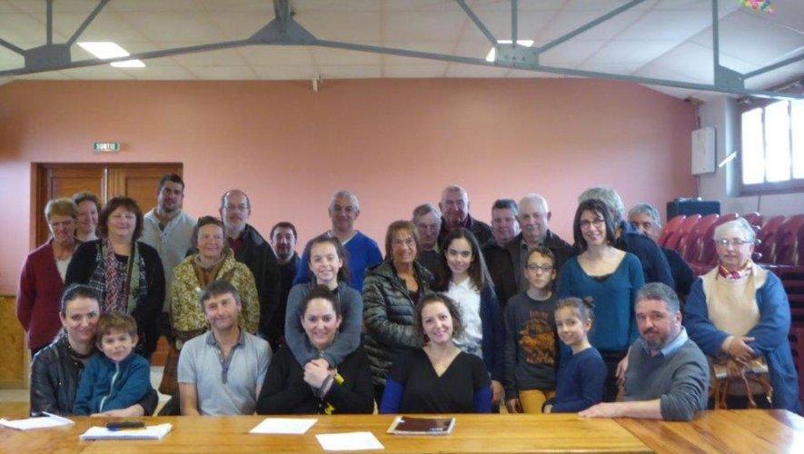Les membres du  comité d'animation en assemblée générale.