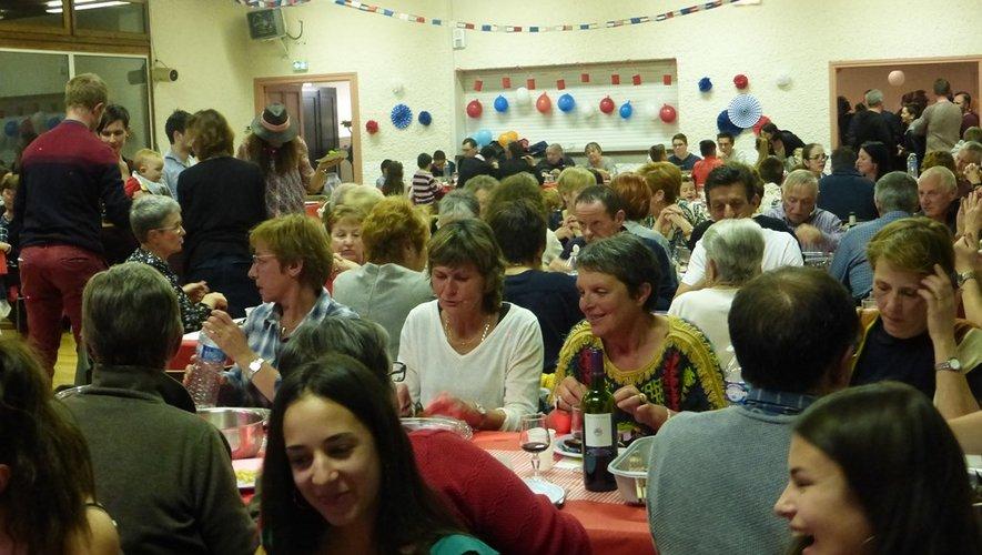 Une soirée appréciée de tous les participants.