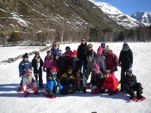 Les jeunes skieurs se sont éclatés sur les pistes.