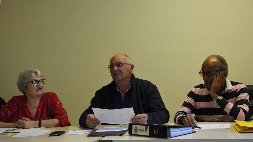 Chantal Dulaurand, Daniel  Le Derff et Bernard Cayzac restent mobilisés.