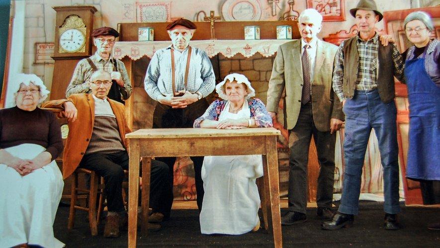 La troupe interprétera deux pièces en occitan.