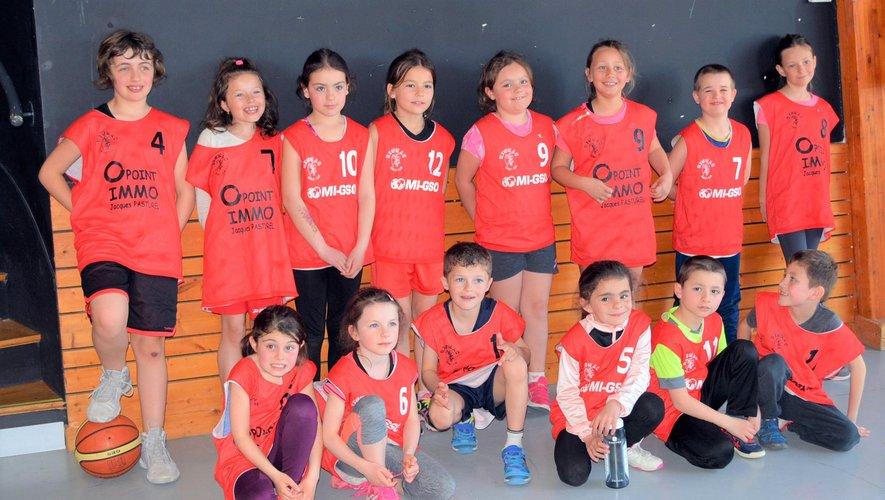 Les U9 disputaient des tournois à Capdenac et à Morlhon.