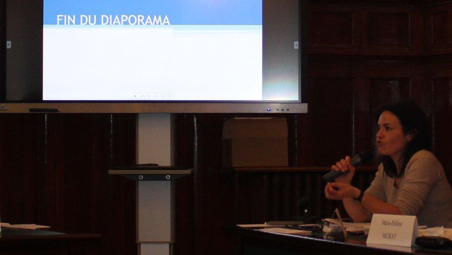 L'adjointe aux finances Véronique Dessales a présenté le budget.