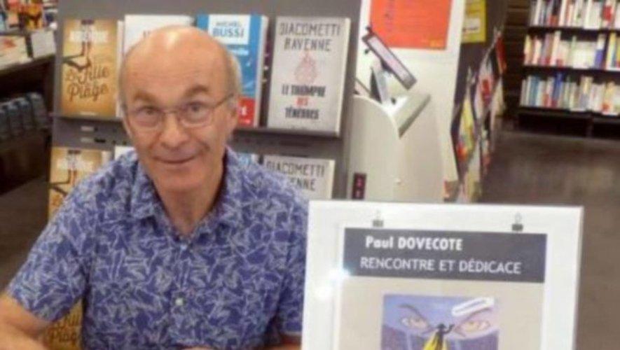 L'auteur Paul Dovecote aujourd'hui à Pont Virgule