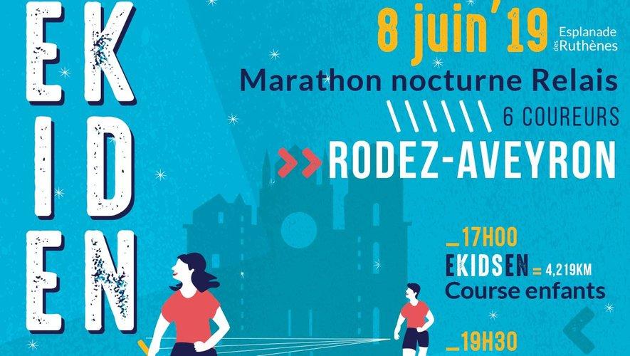 Ekiden Rodez : les inscriptions sont ouvertes, top départ le 8 juin !