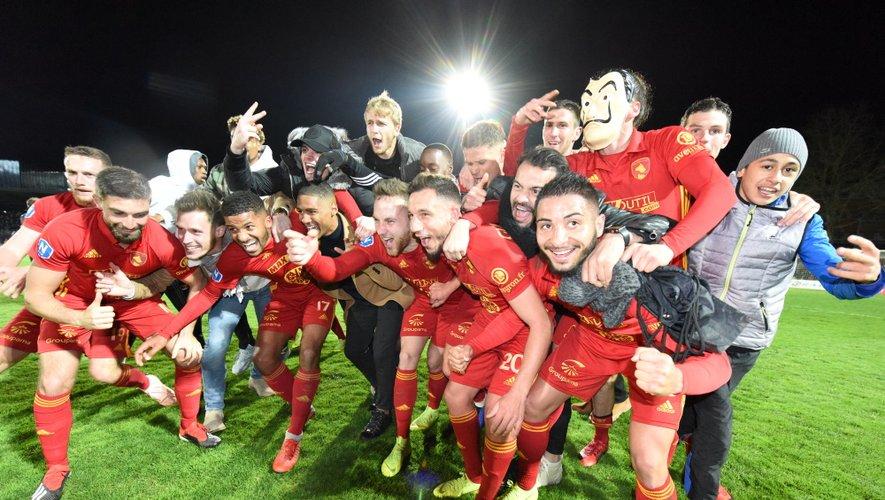 Une saison remarquable et une soirée inoubliables pour les footballeurs ruthénois.