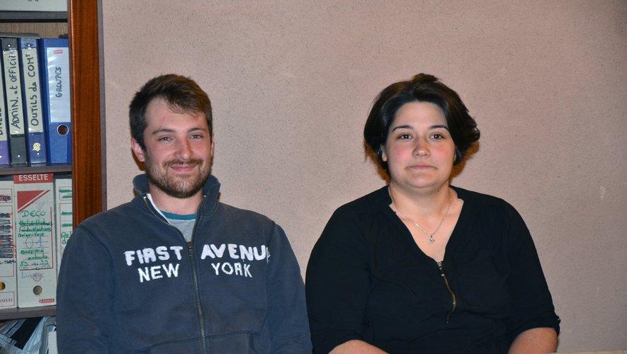 Adeline Tardieu et Bastien Noyé ont pris les rênes de l'association.
