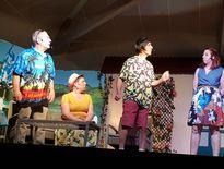 La troupe durenquoise a séduit le nombreux public.