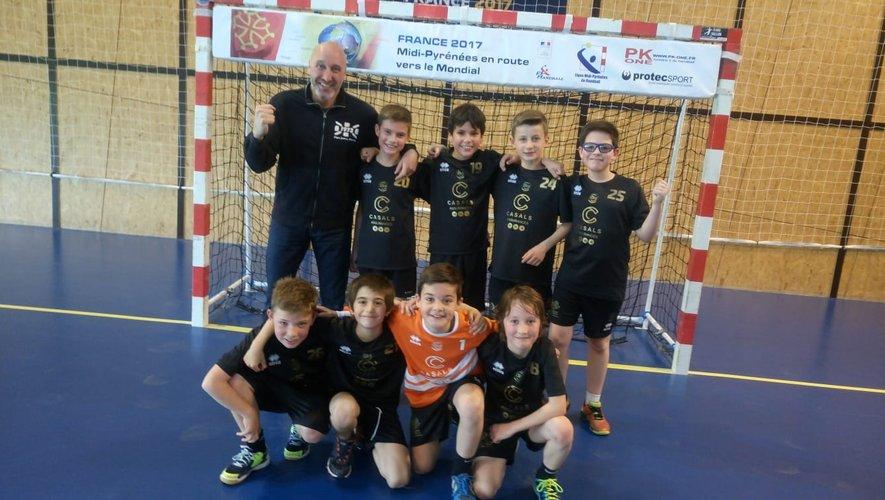 Handball Lévezou Ségala, les garçons confirment leur 1re place
