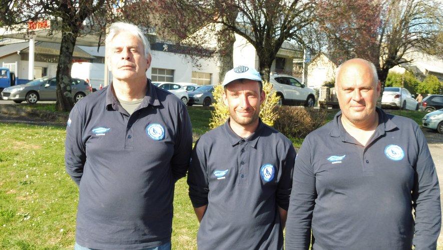 Onze triplettes aux finales départementales à Millau