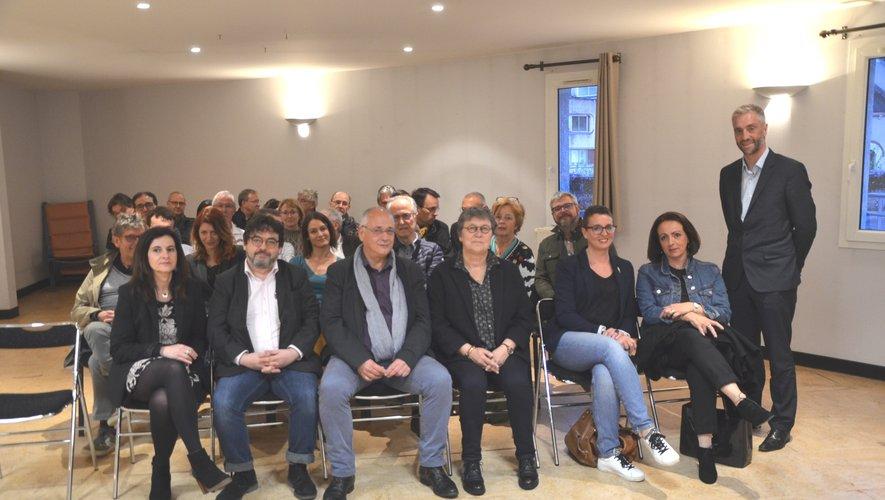 Vincent Prévoteau, directeur du groupement hospitalier du territoire, présente aux médecins le nouveau projet d'établissement de l'hôpital.