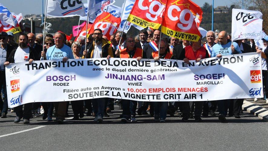 Une grande marche ce samedi après-midi à Onet pour la défense de la filière automobile.