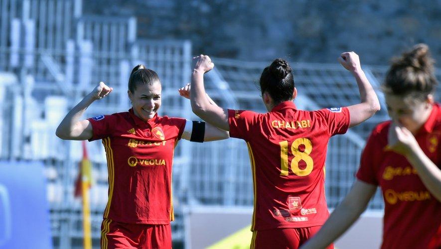 Victoire historique des Ruthénoises. C'est le premier succès des Aveyronnaises aux dépens des Héraultaises en neuf saisons de Division 1.