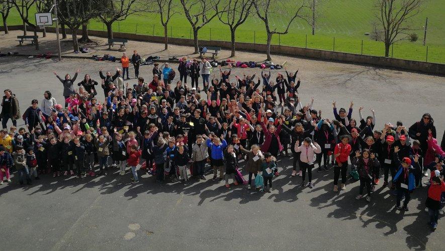 École Sainte -Marie : les élèves ont fêté la 20e édition de la journée du printemps