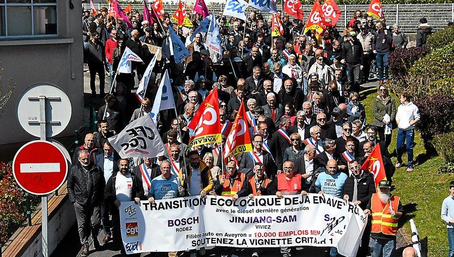La filière auto représente plus de 10 000 emplois indirects en Aveyron.