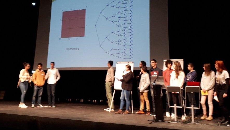 Ils ont planché grandeur nature lors du 30e congrès de Math en jeans.