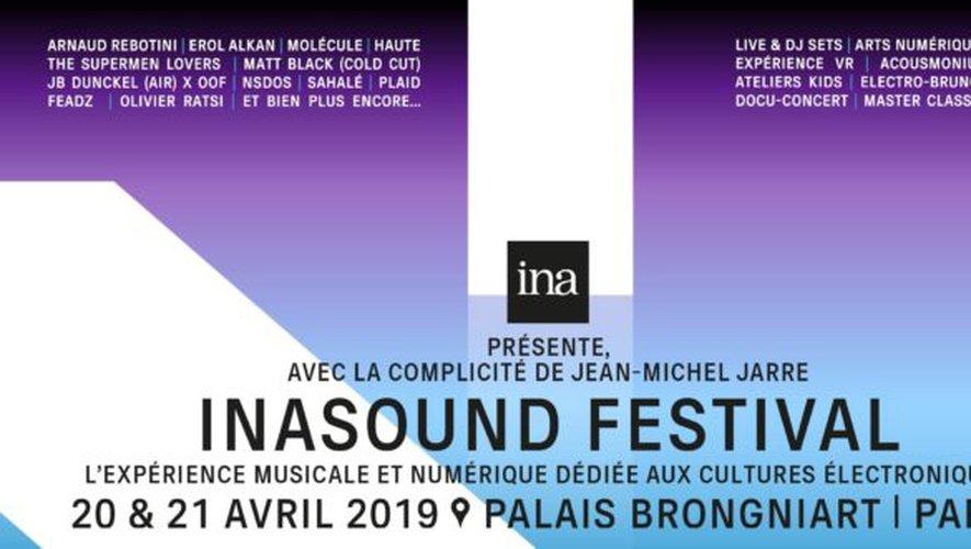 Prévu les 20 et 21 avril, INASOUND est premier festival dédié à la culture électro.