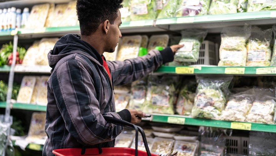 274 millions de sachets de salades ont été vendus par la grande distribution en 2018