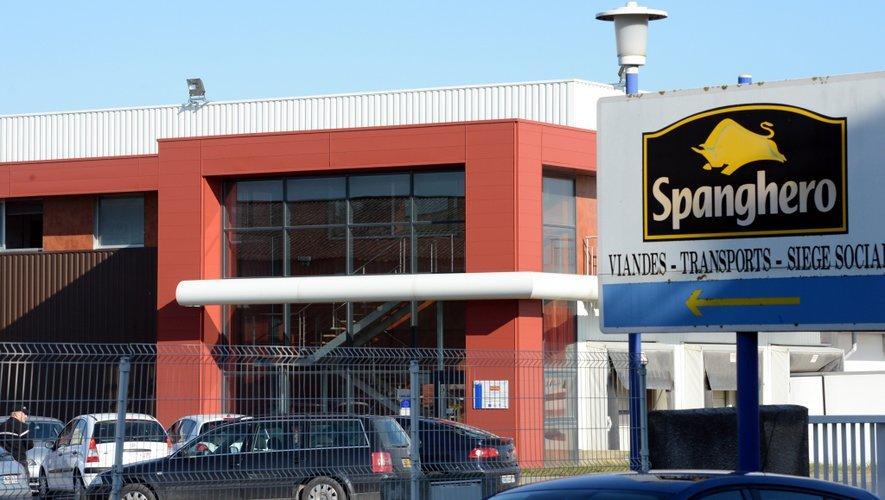 L'usine Spanghero dans l'Aude.