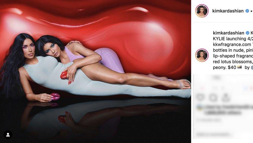 Kim Kardashian a dévoilé à ses 134 millions de followers sur Instagram sa nouvelle collaboration beauté avec sa soeur Kylie Jenner