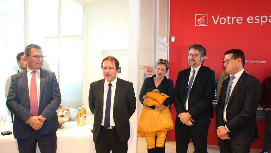 L'agence de la Caisse d'Epargne Onet-Sébazac officiellement inaugurée