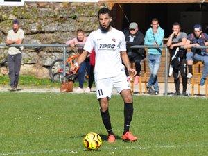À l'instar d'Hakim Belaïd, les joueurs présents ont fait un match courageux (photo d'archives).