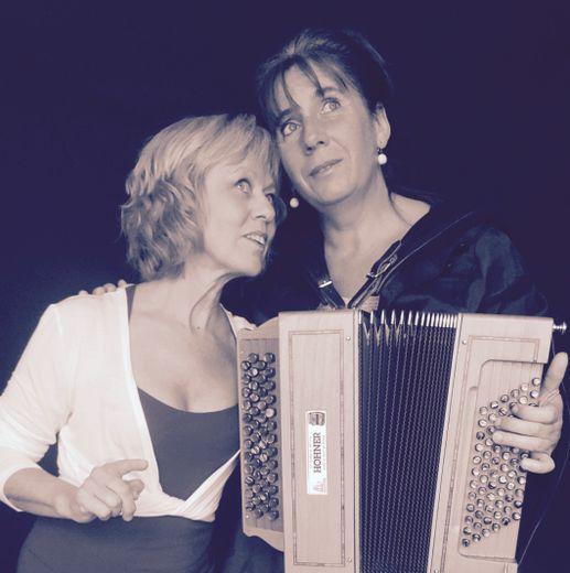 Joëlle Anglade et Corinne Blayac : un duo pétillant.