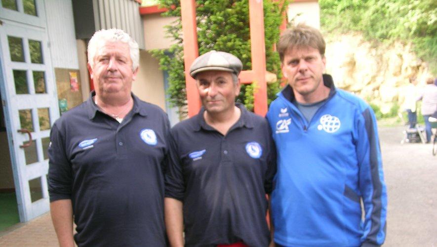 La triplette Bras, Solignac, Auguy, notre meilleur représentant.