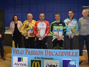 Quelques récompenses avec Michèle Couderc et Christian Tieulié.