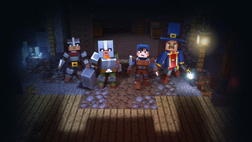 """Le prochain jeu """"Minecraft : Dungeons"""" est attendu sur Windows PC courant 2019."""