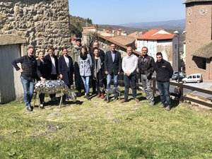 Les douze partenaires des sites touristiques.