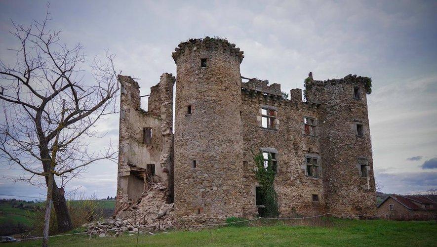 Le château de Pagax, après le 8 mars.