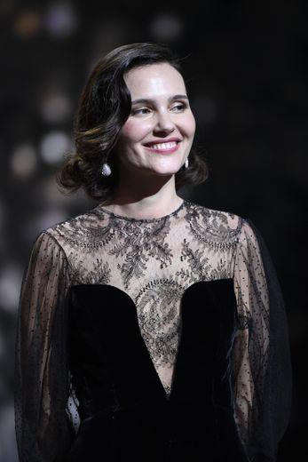 L'actrice française Virginie Ledoyen