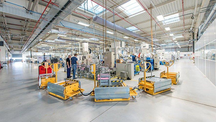 Une nouvelle ligne de production opérationnelle en juin prochain.
