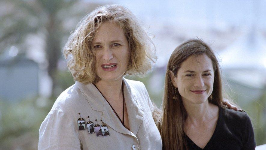 """Seule une femme a décroché la Palme d'or: Jane Campion (à gauche) pour """"La Leçon de piano"""" (1993)."""