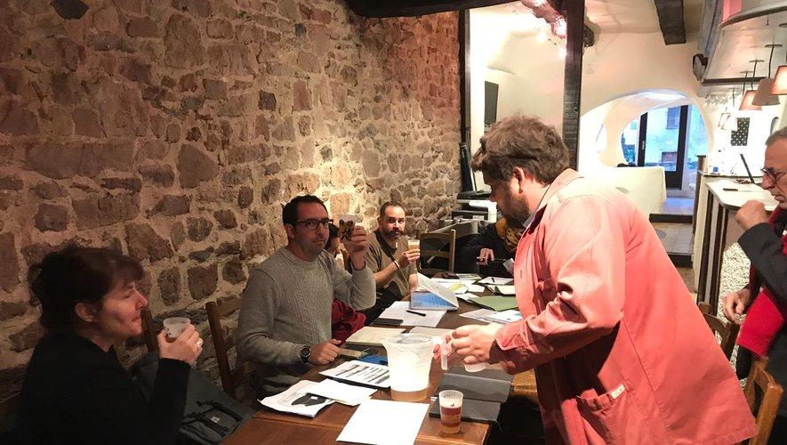 Une réunion du comité de pilotage de Station A.
