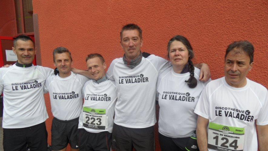 L'équipe mixte du « Valadier ».